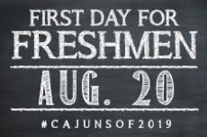 First Day for Freshmen